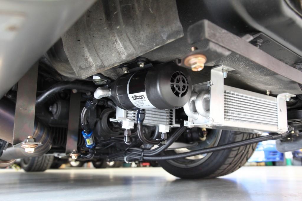 Differential Oil Cooler : In the build jem nissan r skyline gt motive dvd
