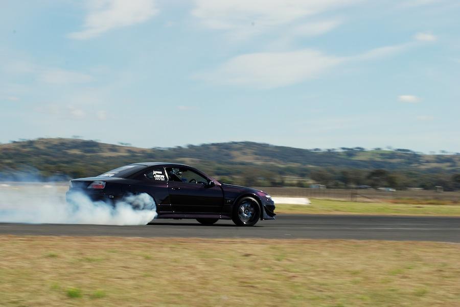 Jason launch with smoke