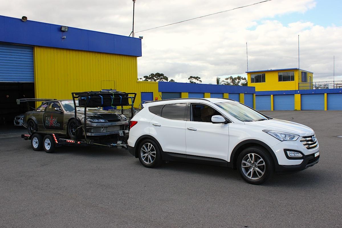 Hyundai ix35 towing capacity