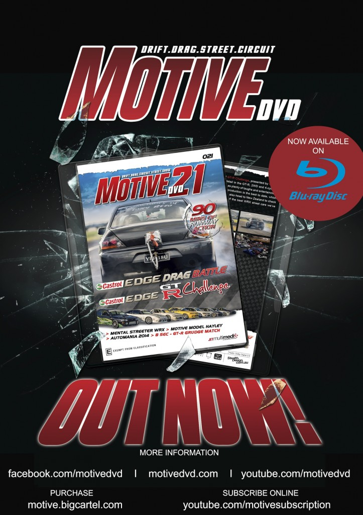 MOtive DVD 21 Now on sale poster copy