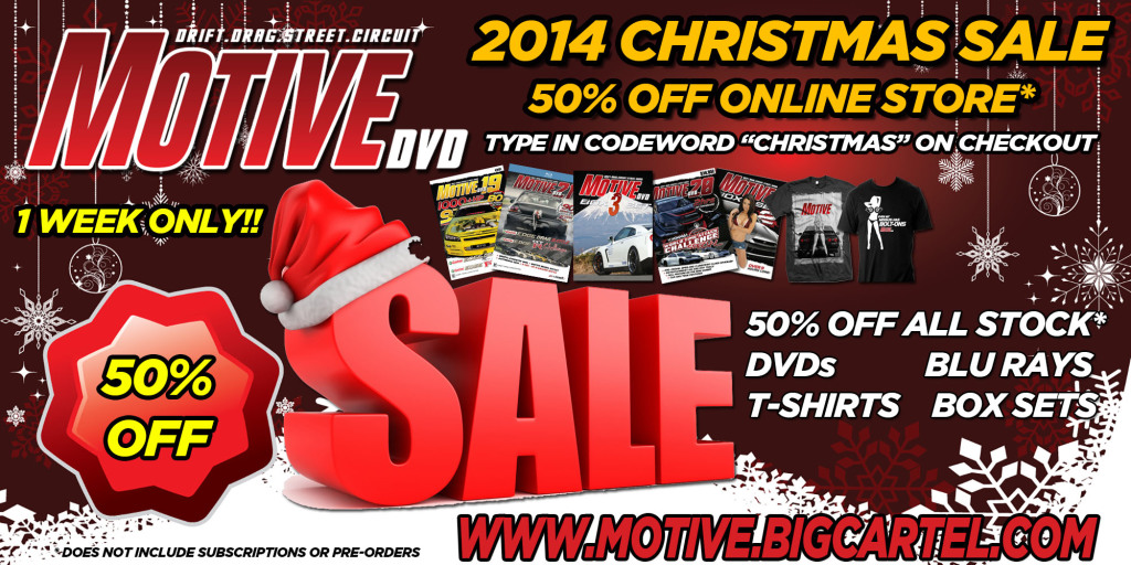 2014 MOTIVE CHRISTMAS SALE FLYER