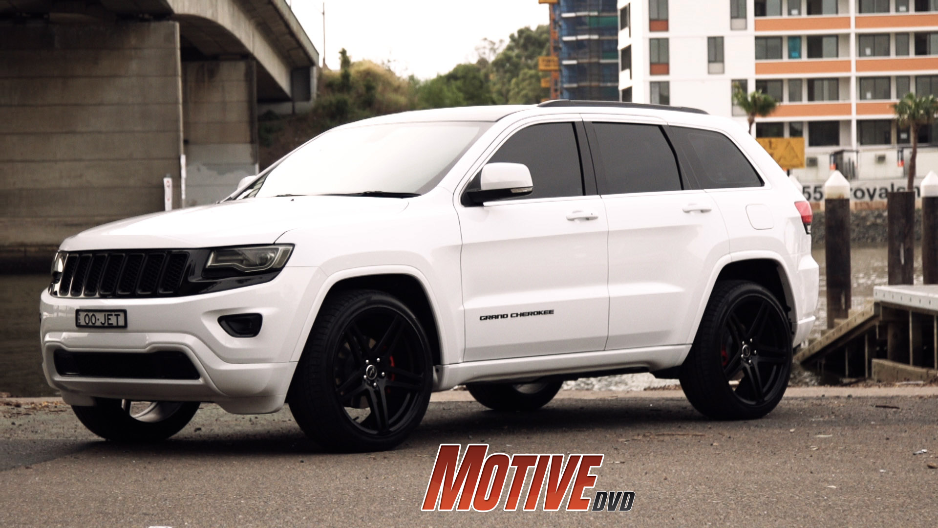 New car in Motive Garage – Murdered Out Jeep Grand ...