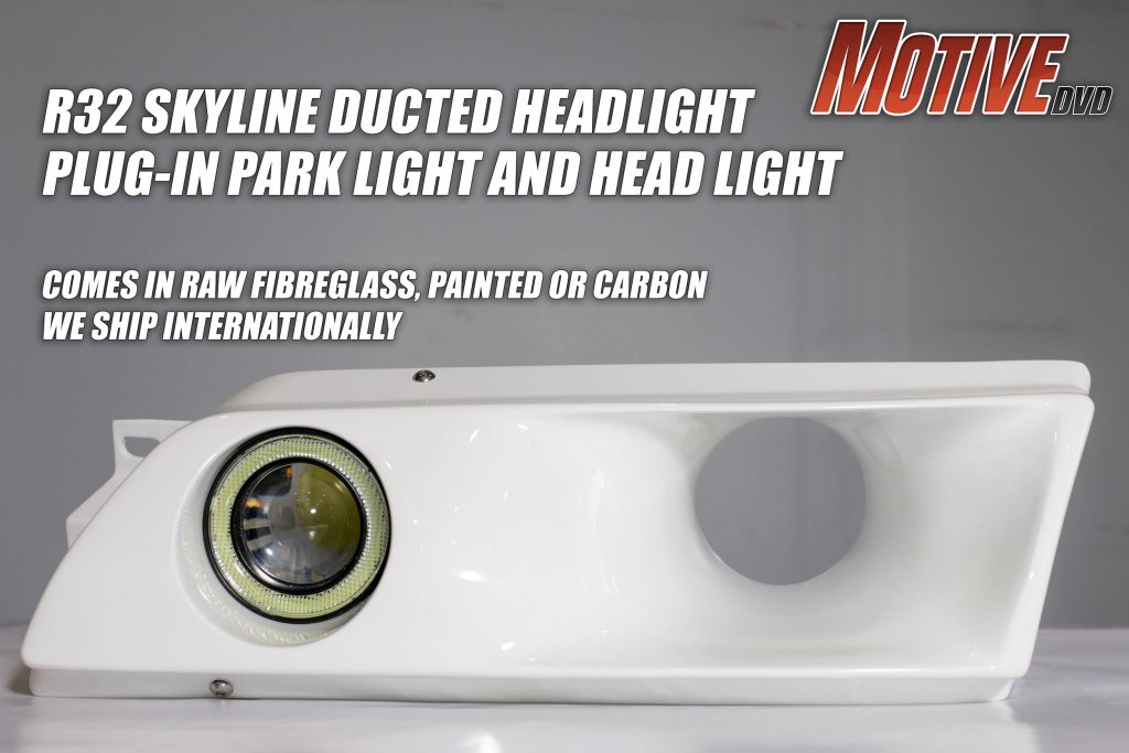 Ducted headlight ad